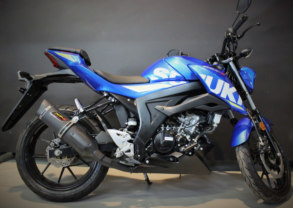 escape suzuki gsx-s 125 / gsx-s 125 z '17-'19 (full exhaust)